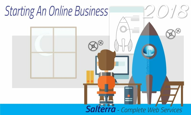 Starting an Online Business with Salterra Image