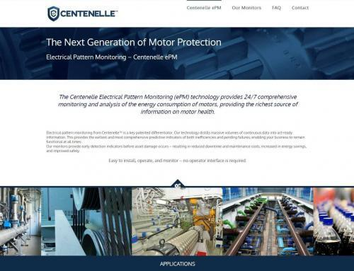 Centenelle Industrial Motor Monitoring