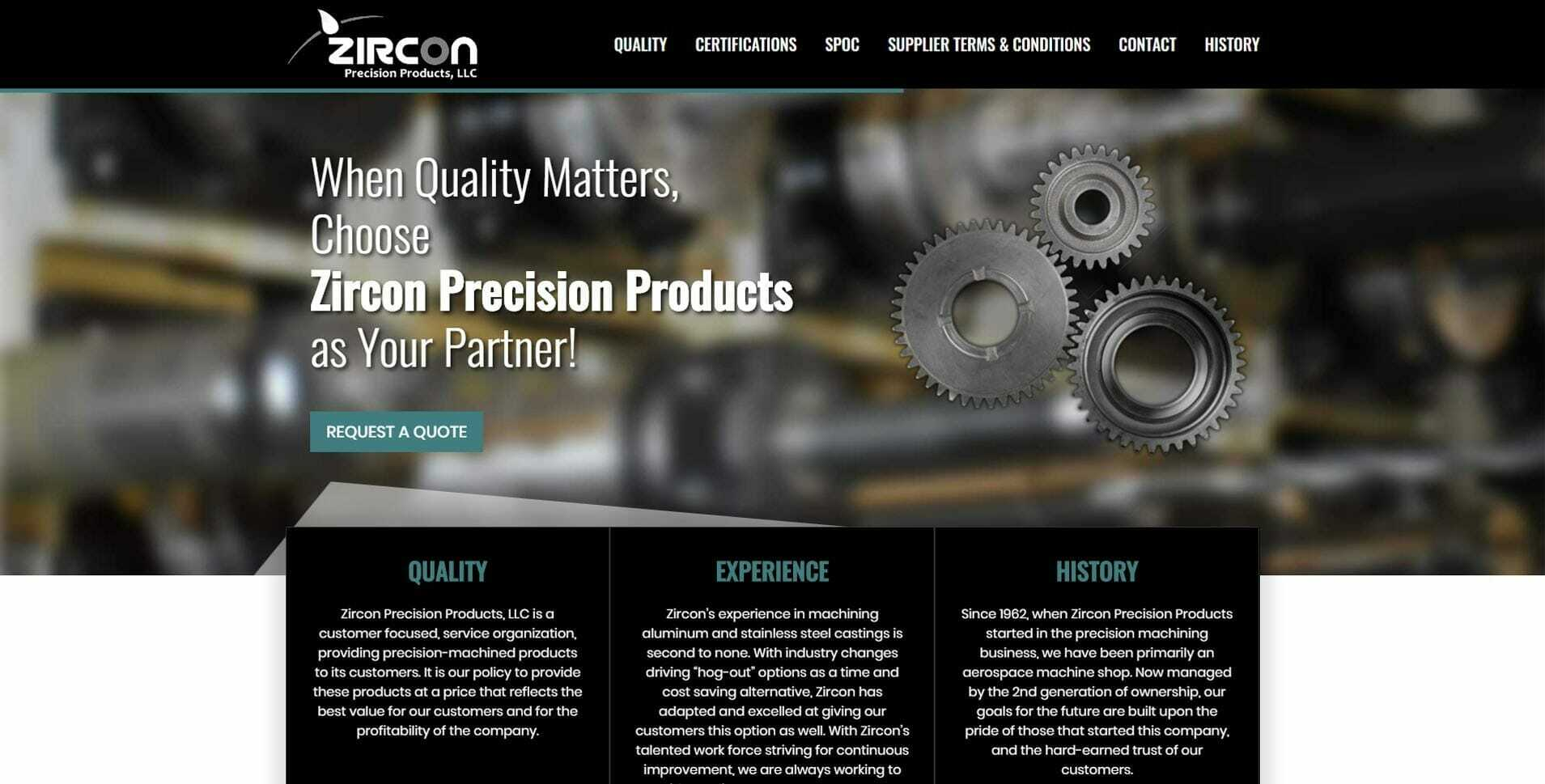 Zircon Precision Products